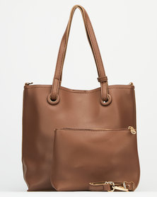 Joy Collectables Everyday Tote Bag Brown