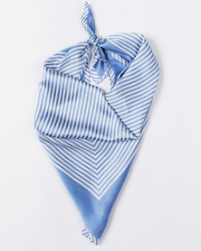 Joy Collectables Nautical Blue Silky Scarf