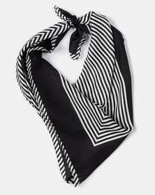 Joy Collectables Nautical Silky Scarf Black