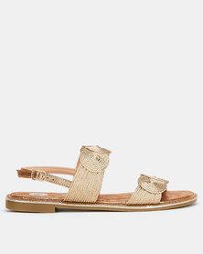 Footwork Cindia Sandals Rose Gold