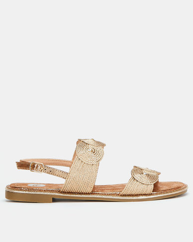Footwork Cindia Sandals Rose Gold