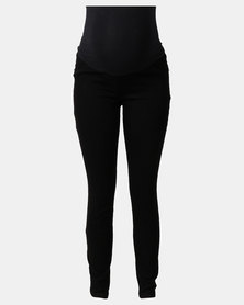 Cherry Melon Skinny Jeans Black