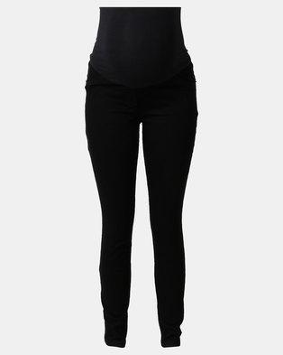 Cherry Melon Skinny Jeans Black