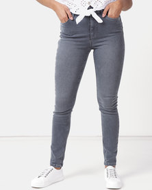 New Look 'Lift & Shape' Skinny Jeans  Dark Grey