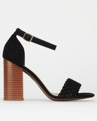 New Look SDT Block Heels Black