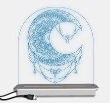 Illuminate Creations  Moon Designer Light  Multi