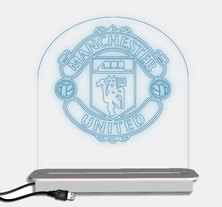 Illuminate Creations  Manchester United Designer Light  Multi