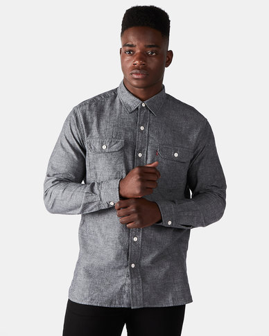 Levi's ® Chambray Classic Worker Shirt Black
