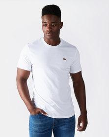 Levi's ® Cotton & Patch Chest Logo Tee White