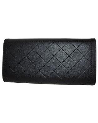 Fino Stylish PU Leather Purse with Box-Black