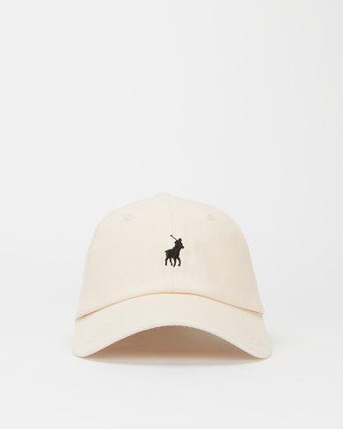 Polo Mens Parker Classic Peak Cap Stone