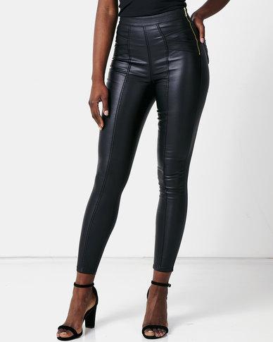 Sissy Boy Ruler High Waisted Shaper Jeans Black