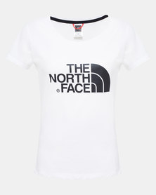 The North Face Easy T-Shirt White