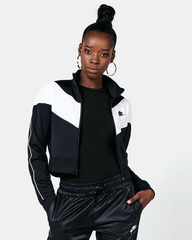 Nike W NSW Heritage Track Jacket Black