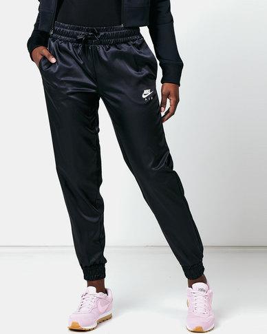 Nike W NSW Air Track Pants Satin Black