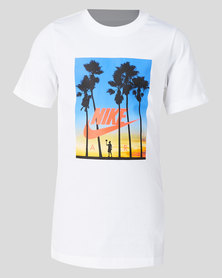Nike B NSW Nike Air Sunset Tee White