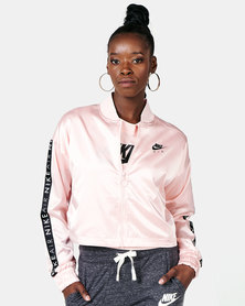 Nike W NSW AIR TRK Jacket Satin Pink