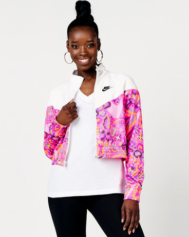 Nike W NSW FTR FEM PK Jacket AOP Multi
