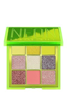 Huda Beauty Neon Green Obsessions Pressed Pigment Palette (Parallel Import)
