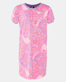 Nike G NSW Swoosh Dress Hyper Pink