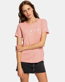 Roxy Red Sunset T-Shirt Rosette