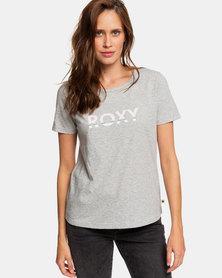 Roxy Red Sunset Corpo T-Shirt Grey