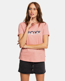 Roxy Red Sunset Corpo T-Shirt Rosette