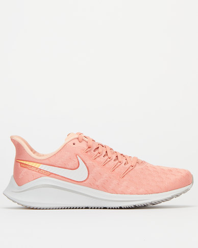 separation shoes 893e4 ff330 Nike Performance Womens Nike Air Zoom Vomero 14 Peach