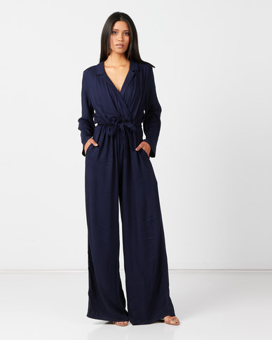 Nucleus Just In Jumpsuit in Navy