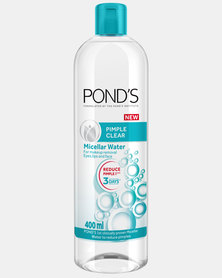 Pimple Clear Face Cleanser Micellar Water 400ml by Pond's