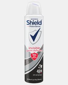Shield Women Invisible Germ Antiperspirant Aerosol 150ml