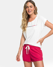 Roxy New Impossible Love Shorts Mauvewood
