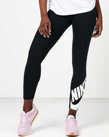 Nike W NSW Legasee Leggings 7/8 Futura Black/White