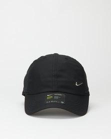 Nike Metal Swoosh Cap Black