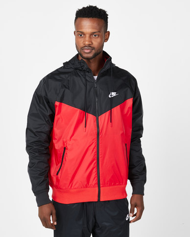 Nike M NSW HE WR Jacket HD Red