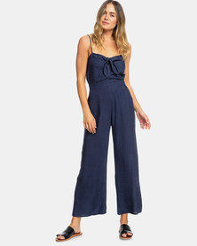 Roxy Feel The Retro Spirit Romper Blue