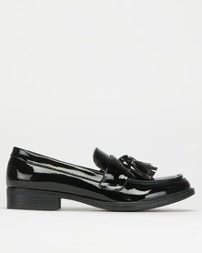 Utopia Tassel Loafer Black