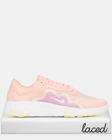 Nike Renew Lucent Sneakers Bleached Coral/White