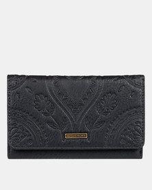 Roxy Crazy Diamond Wallet Black