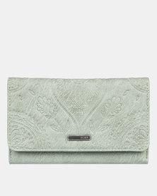 Roxy Crazy Diamond Wallet Lily Pad