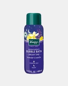 """Kneipp Bubble Bath Lavender & Vanilla Aromatherapy """"Dream Time"""" 400 ml"""