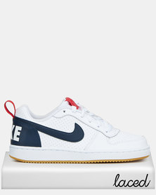 Nike Boys Multi Court Borough Sneakers White
