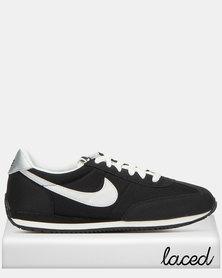 Nike Oceania Textile Sneakers Black/Metallic Silver-Summit White