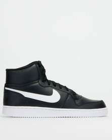 Nike Ebernon Mid Sneakers Black/White