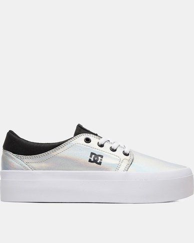 differently the best better DC Trase Platform Sneakers Silver