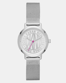 DKNY The Modernist Stainless Steel Watch Silver
