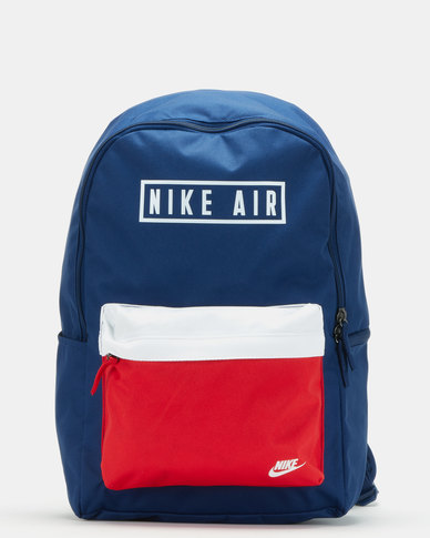 Nike NK Heritage Backpack 2.0 Air GFX Blue