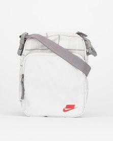 Nike NK Heritage Smit 2.0 AOP Bag White
