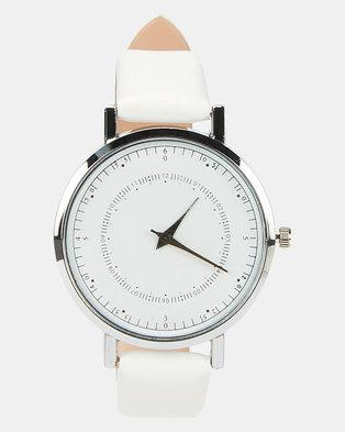 You & I Ladies Fashion Watch White