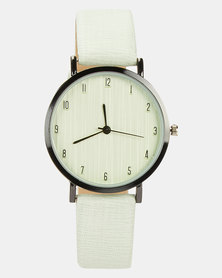 You & I  Ladies Fashion Watch Mint